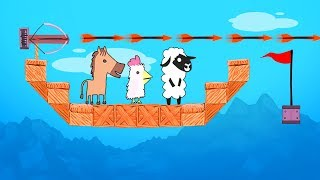 99% IMPOSSIBLE TO FINISH THIS LEVEL! (Ultimate Chicken Horse)