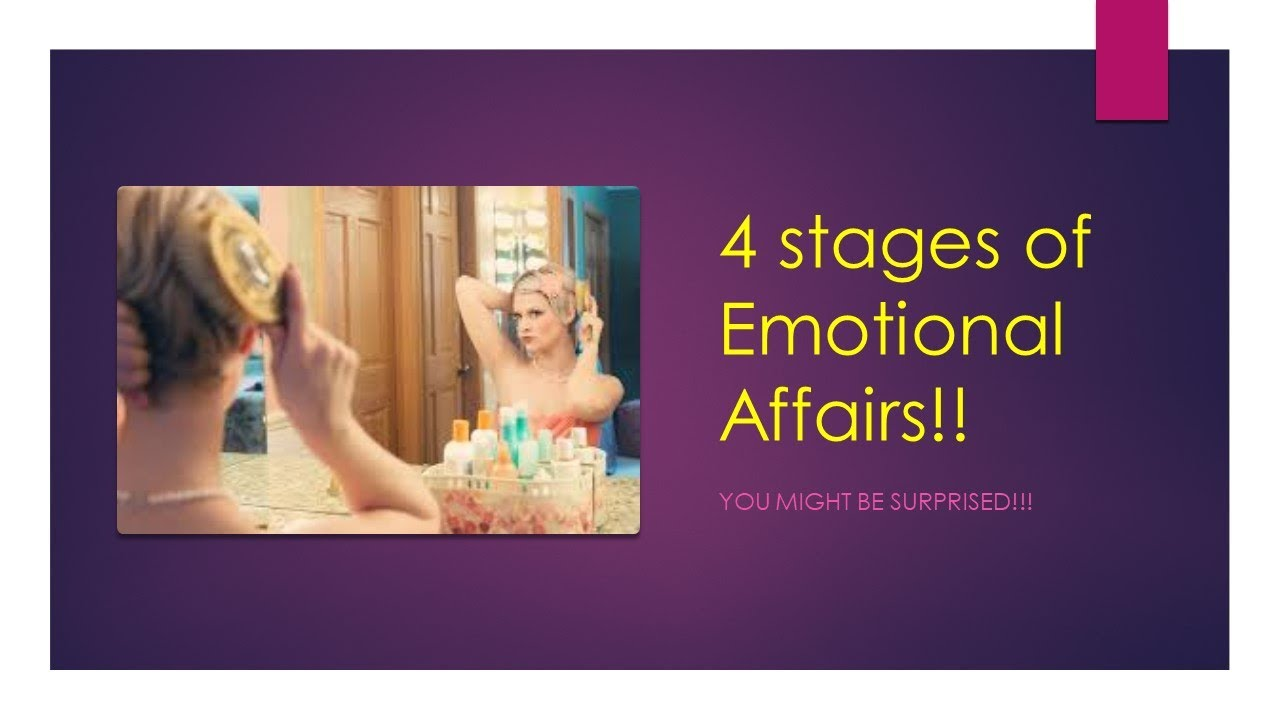 Men affairs why have emotional Head Sex