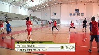 Voleibol rionegrero es fortalecido desde la base