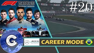 Let's Play F1 2018 Career Mode   Mercedes Career #20   CRUCIAL CHAMPIONSHIP POINTS!