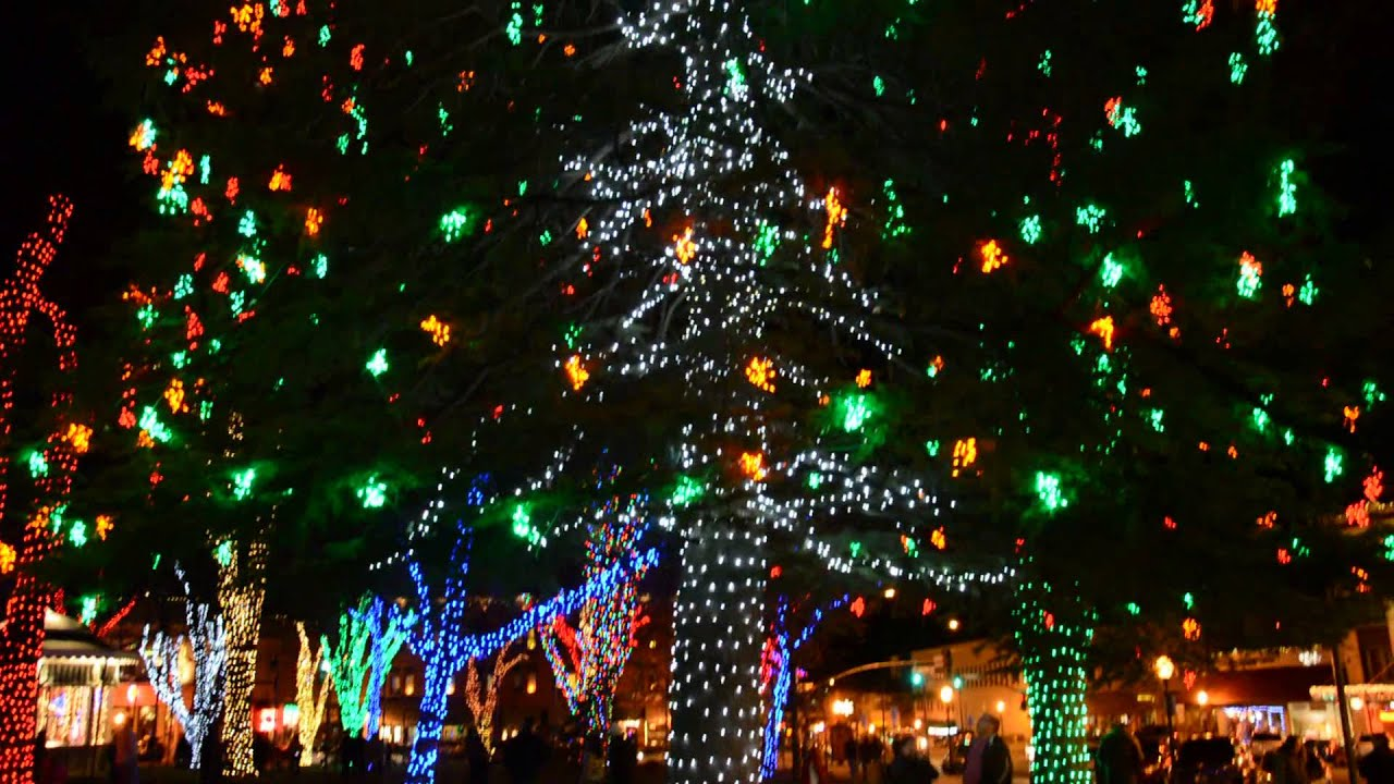 downtown prescott arizona christmas lights