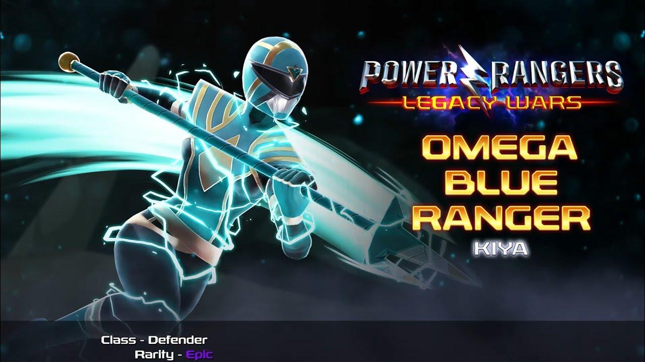 Power Rangers: Legacy Wars - Mighty Morphin Omega Blue Ranger Kiya amazing performances