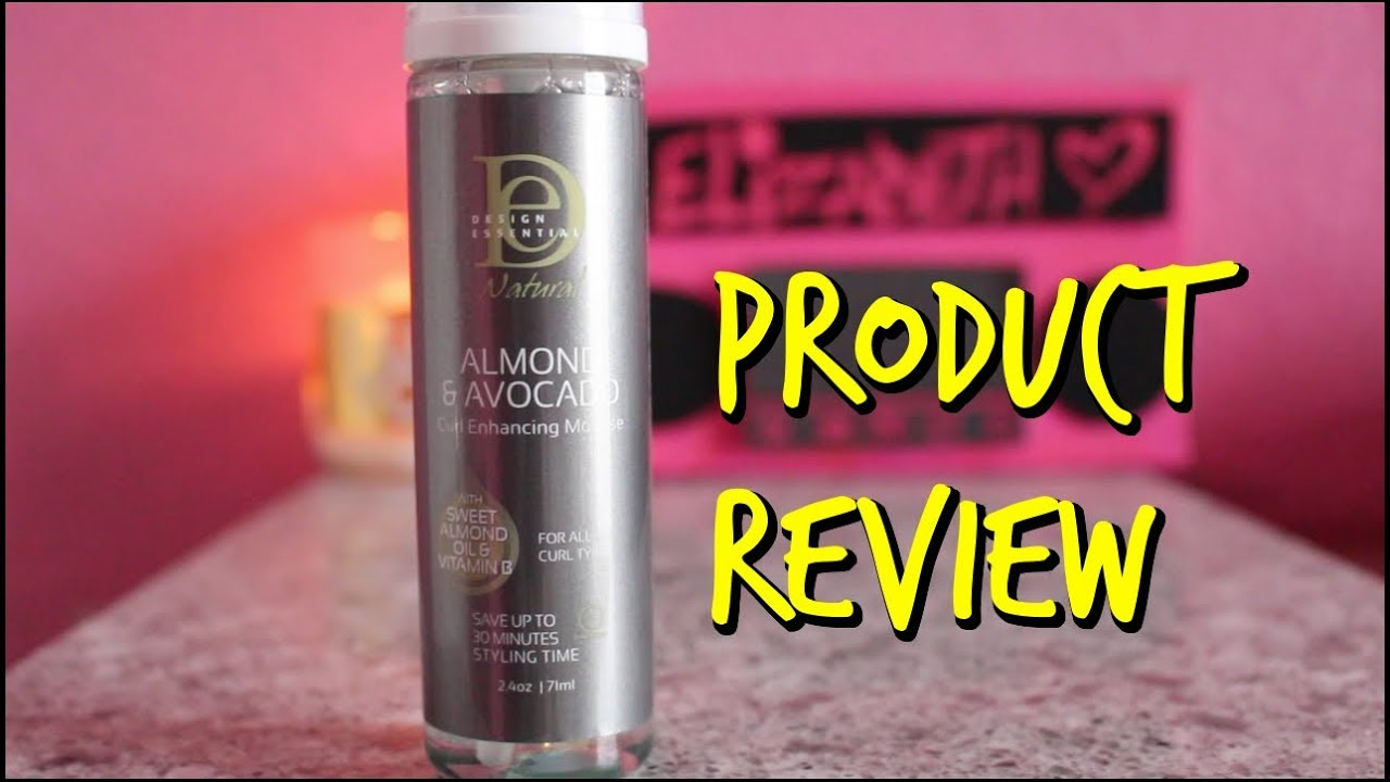 Review Design Essentials Almond Avocado Curl Enhancing Mousse