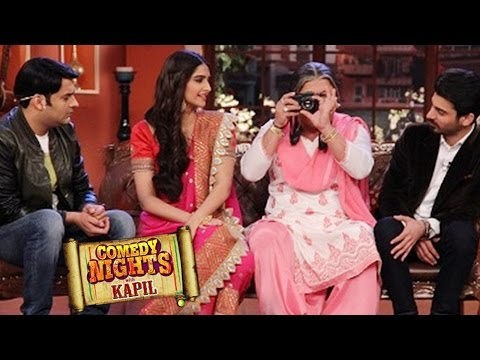 Khoobsurat Sonam Kapoor & Fawad Khan on Comedy Nights with Kapil 26th ...