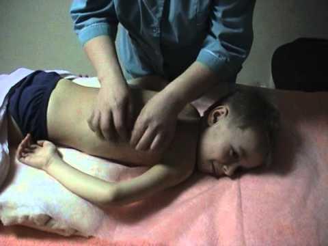 Детский перкуссионный массаж. Children percussion massage.