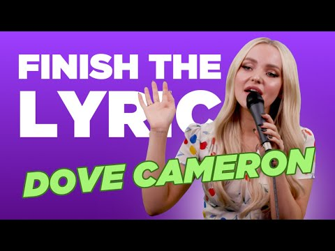 Dove Cameron Covers One Direction, Idina Menzel & More | Finish The Lyric | Capital