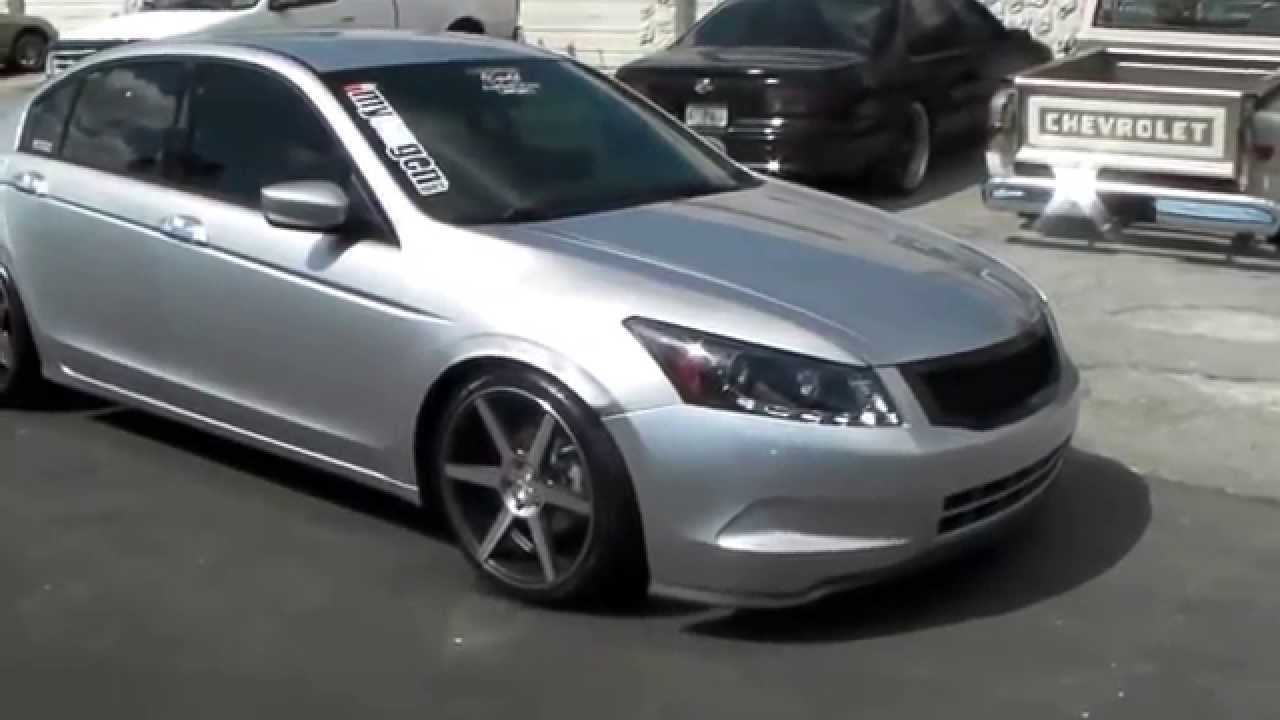 Dubsandtires Com 20 Inch Stance Sc 6 Silver Machine Wheels 2011 Honda Accord Review Rims Miami