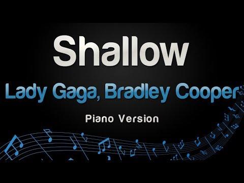 Lady Gaga, Bradley Cooper - Shallow (Piano Version)