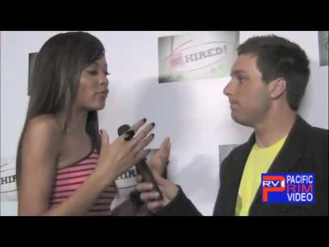 Saleisha Stowers of America's Top Model at MTV Hired Premiere