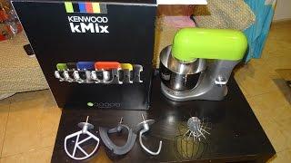 Unboxing Kenwood Kmx50 K-mix Kitchen Machine Electric Stand Mixer
