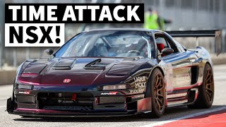 The Baddest Time Attack NSX in the U.S.? Turbo K20 NSX From RS Future Takes on COTA