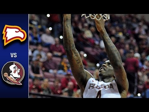 Florida State vs. Winthrop Men's Basketball Highlights (2016-17)