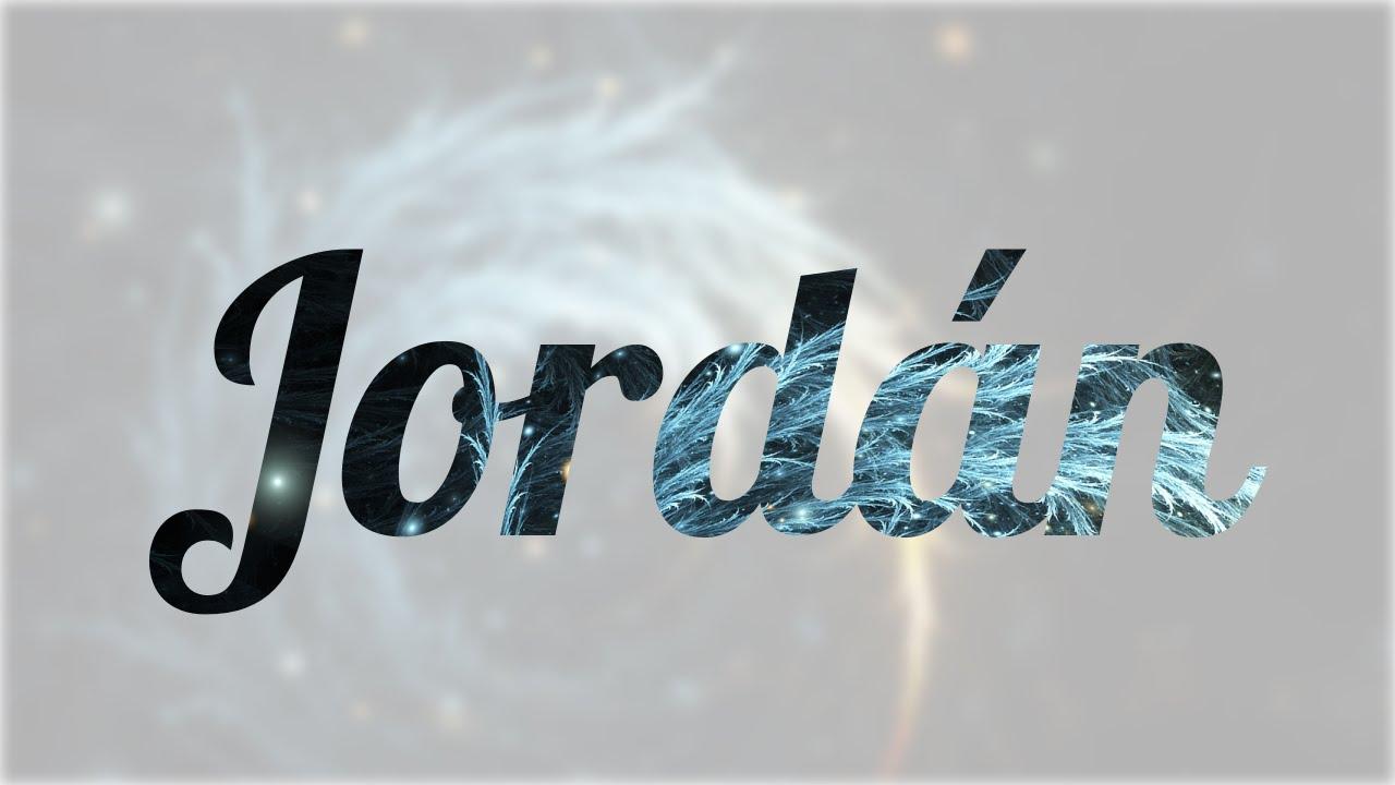 jordan nombre niña