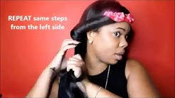 HOW TO: HEATLESS CURLS USING THECURLBAND:TUTORIAL