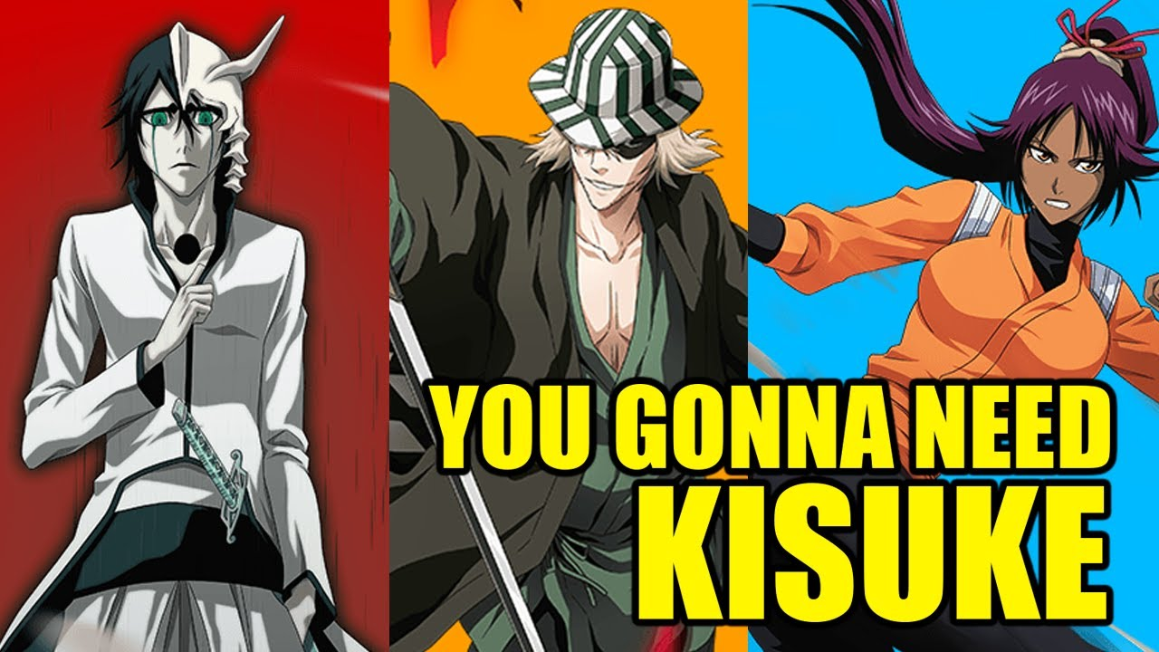[Bleach Brave Souls] KISUKE aka Mind Tokinada has arrived!