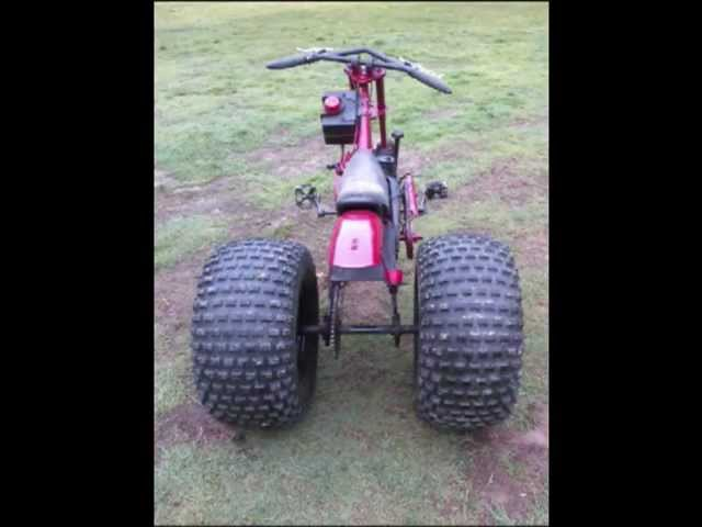 Riding Mower - schwinn stingray occ chopper trike homemade