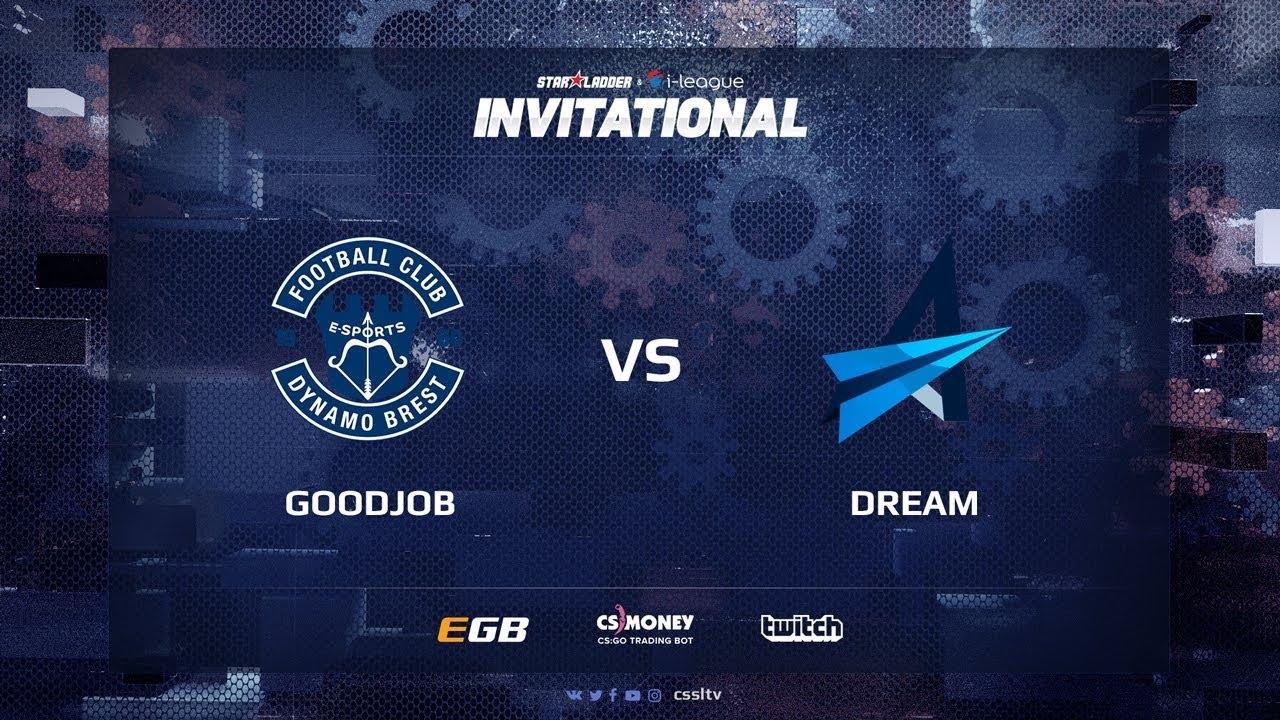 GoodJob vs Dream, map 3 cobblestone, SL i-League Invitational Shanghai 2017 CIS Qualifier