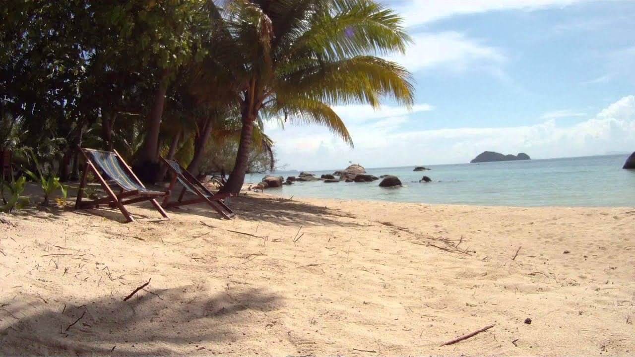 beach landscape hd video