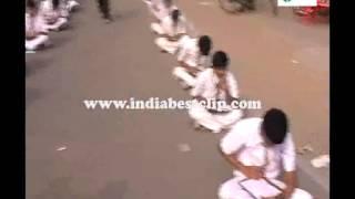 girls at samaikyandhra movement in andhra pradesh