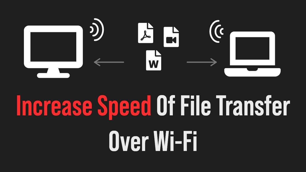 Increasing the file transfers speed on your wifi home network (If you have  a configuration issue)