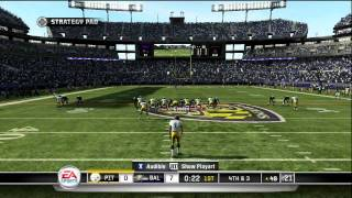 Madden NFL 11 - Steelers vs. Ravens