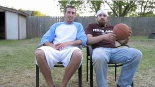 Dude Perfect | Backyard Edition | Our 1st Video!(Head back to the backyard for Dude Perfect's very FIRST video! ---------------------------------------- ▻ PLAY our iPHONE GAME - http://smarturl.it/DPGameiPhone ..., 2009-04-09T05:42:48.000Z)