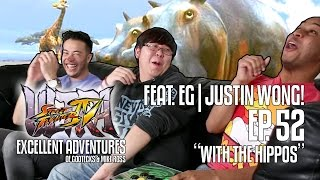 WITH THE HIPPOS! The Excellent Adventures of Gootecks & Mike Ross ft. EG Justin Wong! Ep. 52