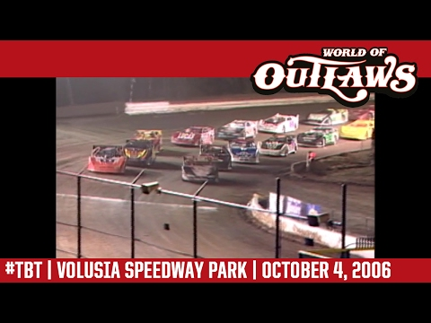 #ThrowbackThursday: World of Outlaws Craftsman Late Models Volusia Speedway Park October 4, 2006