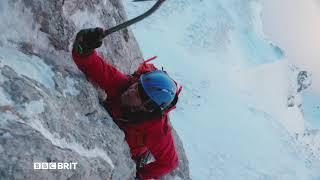 Steve Backshall kontra północna ściana Eigeru w BBC Brit