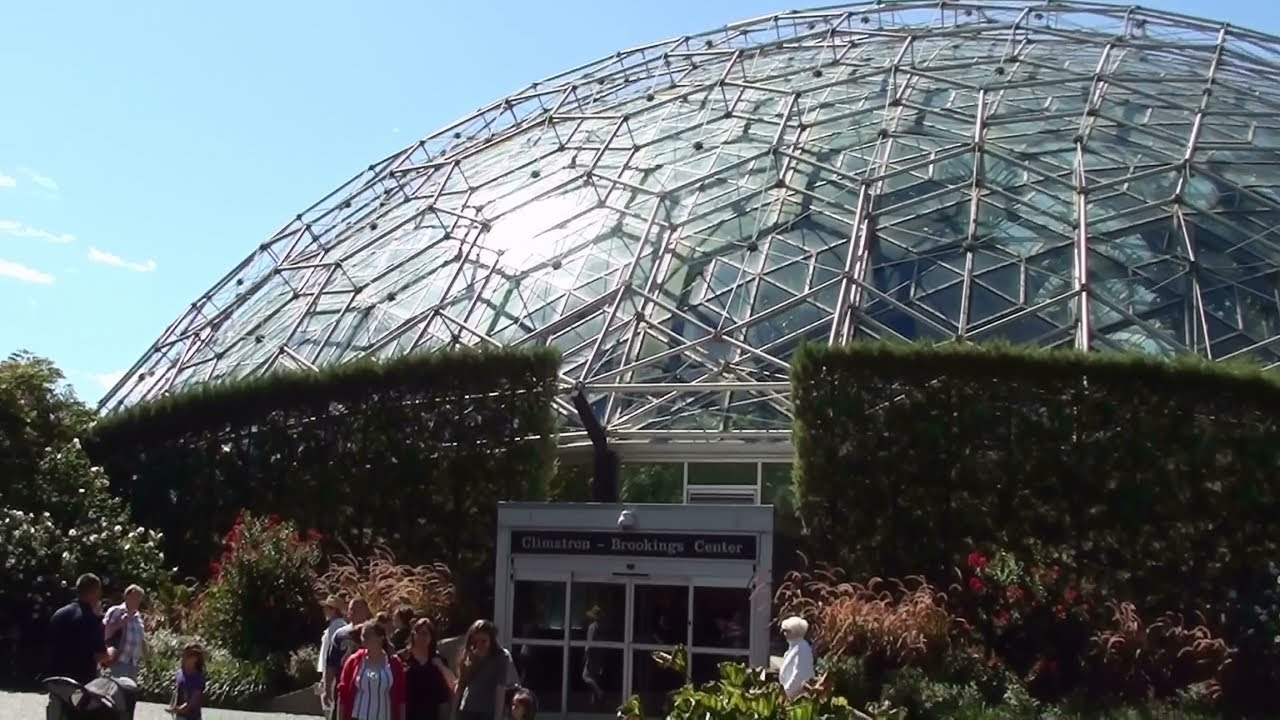 Climatron Geodesic Dome Conservatory Missouri Botanical Garden