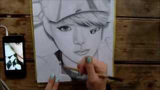 F(x) Amber Liu - [Graphite Drawing]