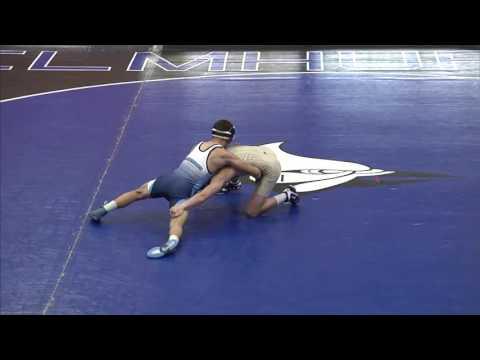 2016-11-16 Elmhurst College Men's Wrestling vs. Trine University