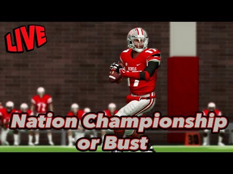 The End of a Dynasty | NCAA Football Dynasty | National Championship or Bust