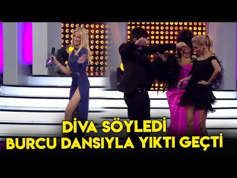 Bülent Ersoy Söyledi , Burcu Esmersoy Cilveli Dansı İle Yıktı Geçti! Popstar