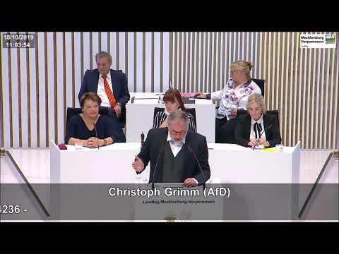 Christoph Grimm: Demokratie und Toleranz generiert nur eine sozial geeinte Gesellschaft!
