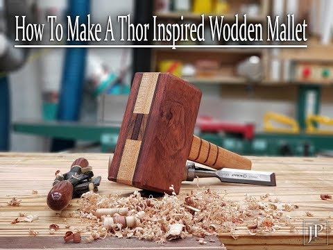 How to make a Thor Inspired Wooden Mallet