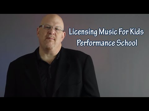 Entertainment Law Asked & Answered - Licensing Music For Kids Performance School