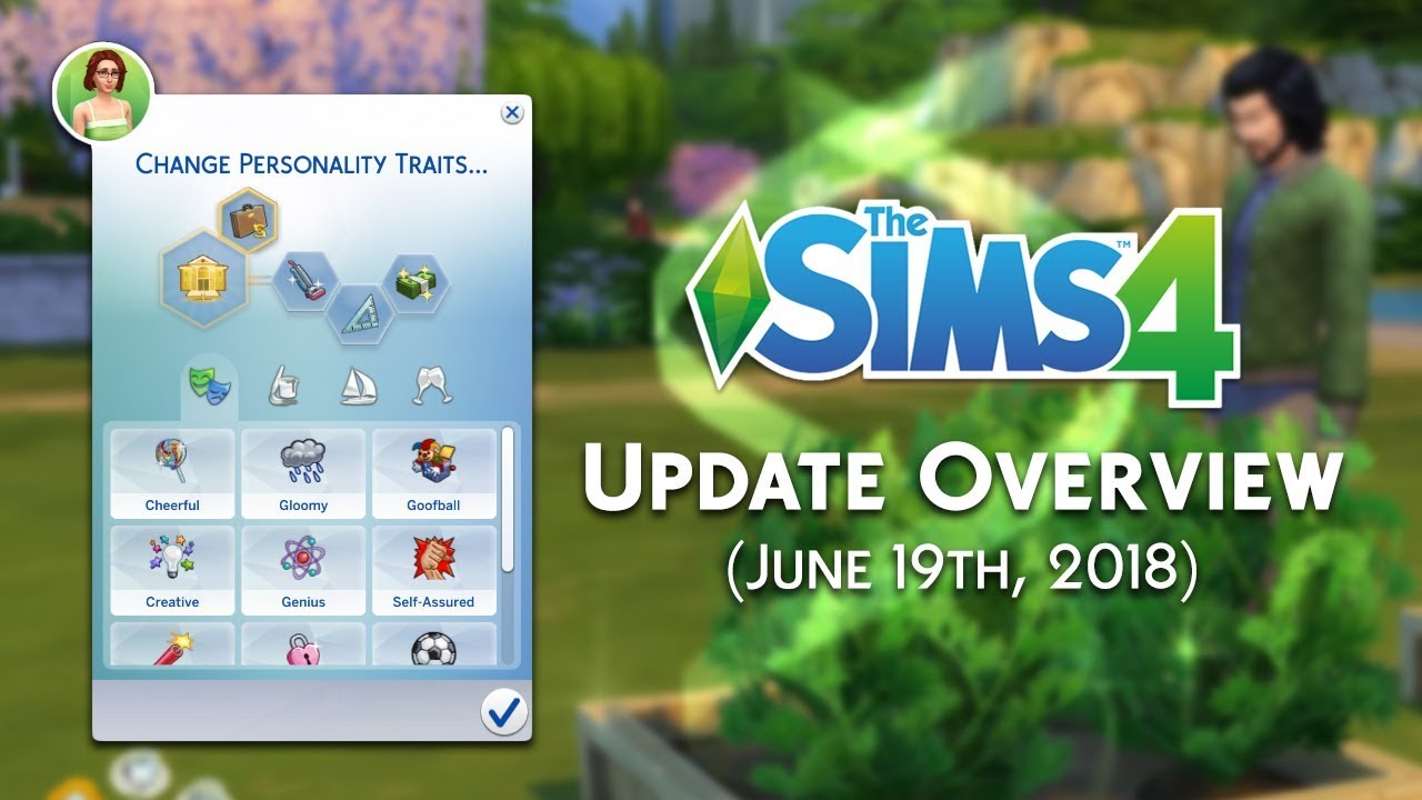 The Sims 4 New Update Overview: Glass Roofs, Gardening Overhaul and MORE!  (June 19th, 2018)