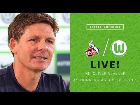 LIVE 🔴 Pressekonferenz mit Oliver Glasner vor 1. FC Köln - VfL Wolfsburg | Bundesliga