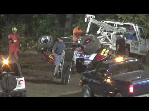MTS Sprints Feature Race at Crystal Motor Speedway, Michigan on 09-16-2017!!