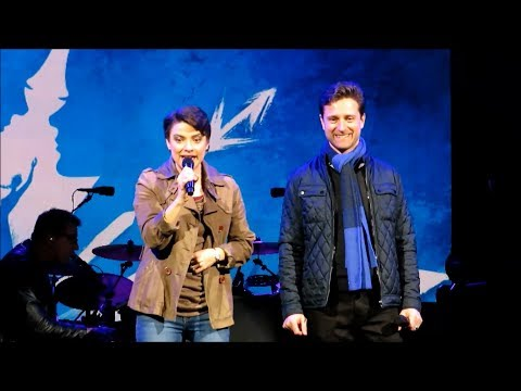 Disney on Broadway - Jenn Gambatese & Kevin Massey @Epcot Jan. 13, 2018