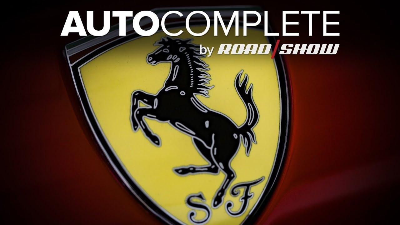 AutoComplete: Ferarri making an SUV? Say it ain't so!