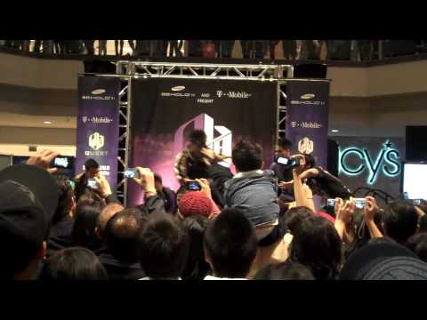 [T-Mobile Samsung Behold II Tour] Quest Crew ABDC Routine