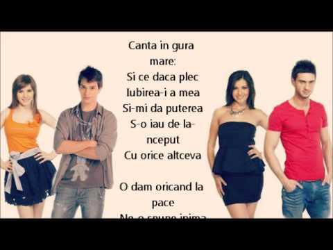 Criss, Vlad, Alina si Dorian- Alegi Iubirea (lyrics)