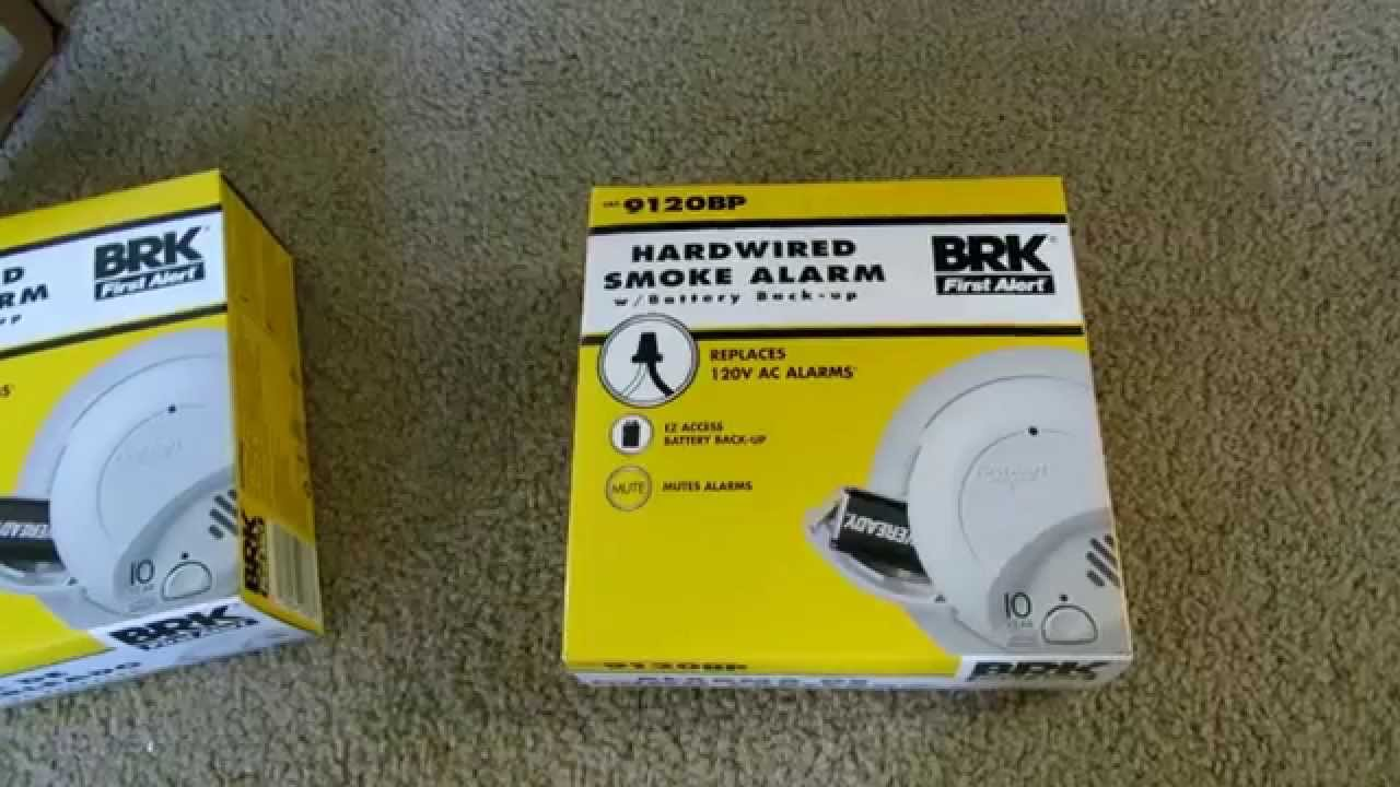 Review of the First Alert BRK 9120BP Hardwire Smoke Alarm