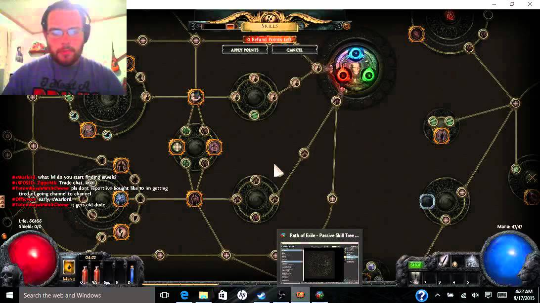 Path Of Exile Passive Skill Tree Guide Youtube