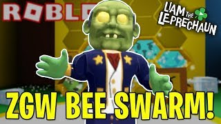 ZGW SPENDS ROBUX POUR LEGENDARY BEES! - BEE SWARM SIMULATOR!