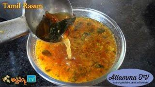 Video Tamil Nadu Rasam: How to Make Tamizh Pepper Rasam (Tamil Recipe in Telugu) by Attamma TV download MP3, 3GP, MP4, WEBM, AVI, FLV November 2017