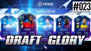 INSANE DRAFT REWARD 100K PACK! - FIFA20 - ULTIMATE TEAM DRAFT TO GLORY #23
