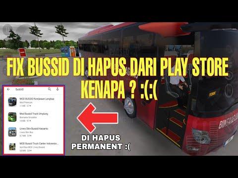 Ini penyebab nya game bussid di hapus dari play store | BUSSID V3.3